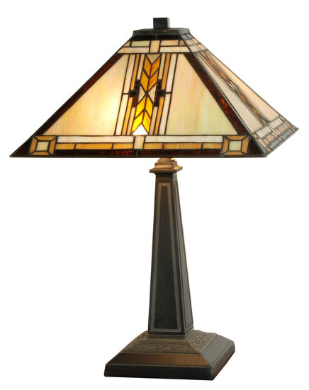 Tiffany vlinder lamp